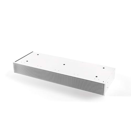 7921400 Plinth recirculation box white with monoblock, H 98 mm