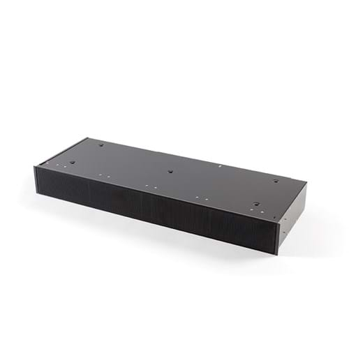 7922400 Plinth recirculation box black with monoblock, H 98 mm