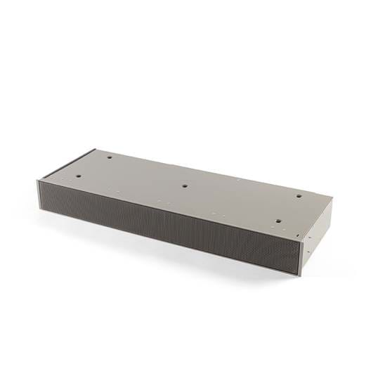 7923400 Plinth recirculation box grey with monoblock, H 98 mm
