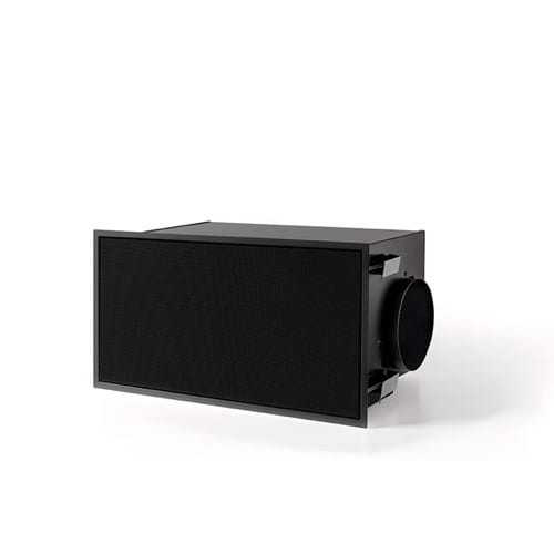 842400 recirculation box with monoblock black (270x500mm)